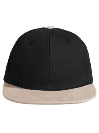Бейсболка Heat черный/серый