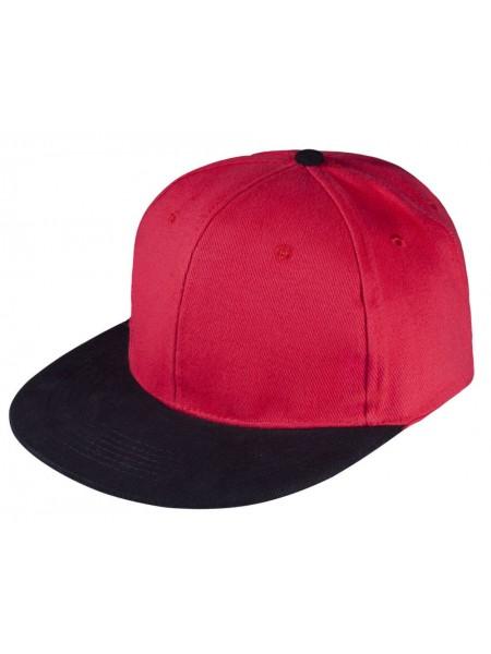 Бейсболка Heat красный/черный