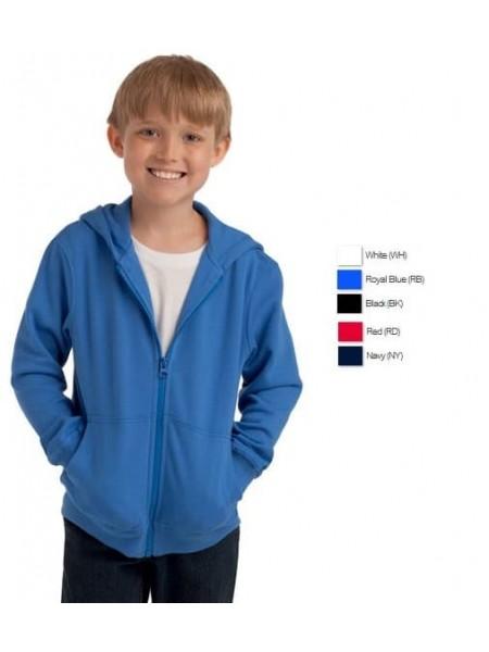 7230 Толстовка на молнии с капюшоном детская