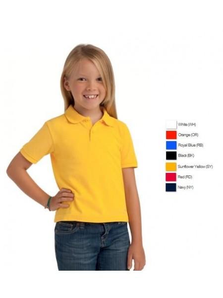 7430 Рубашка поло детская