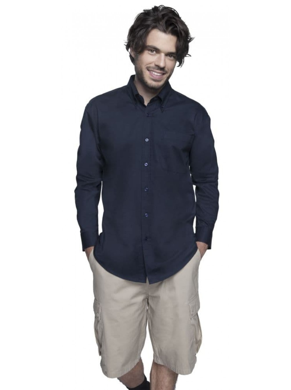 a4381956660 2506 Рубашка мужская с длинным рукавом BEL AIR
