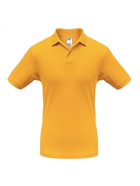 Рубашка поло Safran желтая