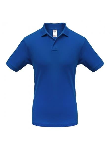 Рубашка поло Safran ярко-синяя