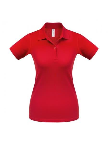 Рубашка поло женская Safran Pure красная