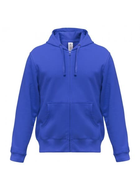 Толстовка мужская Hooded Full Zip ярко-синяя