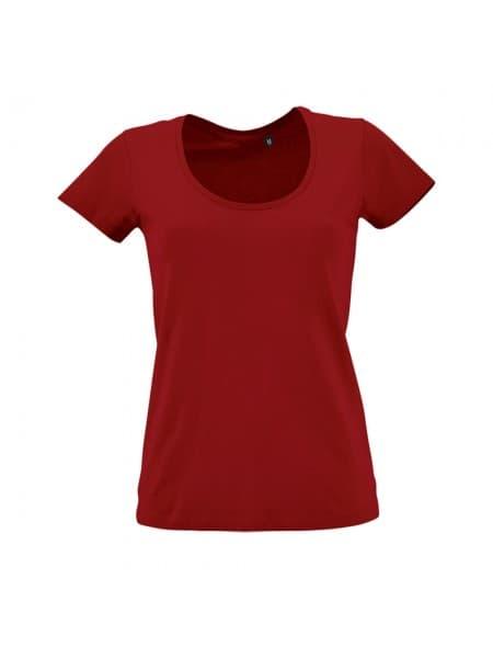 Футболка женская METROPOLITAN, красная