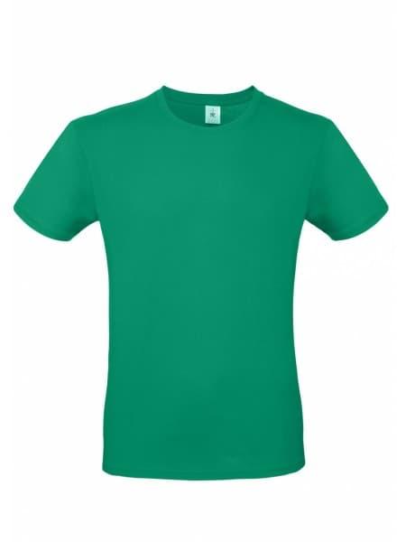 Футболка E150 зеленая