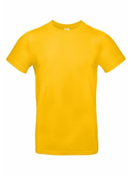 Футболка E190 желтая