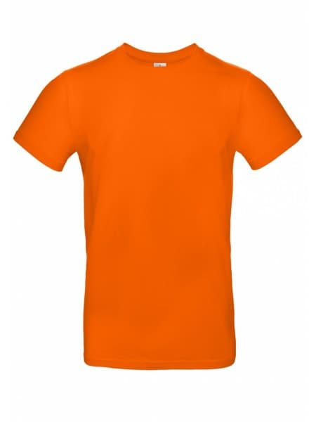 Футболка E190 оранжевая