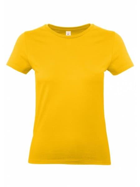 Футболка женская E190 желтая