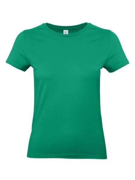 Футболка женская E190 зеленая