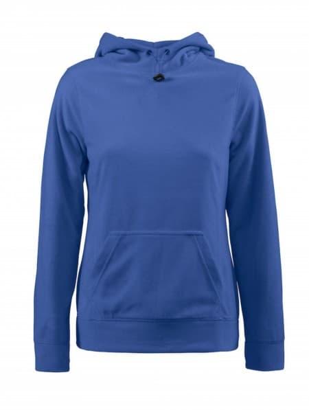 Толстовка флисовая женская Switch синяя