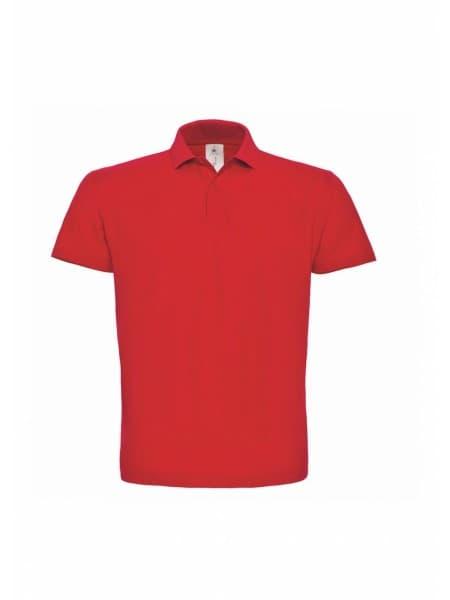 Рубашка поло ID.001 красная