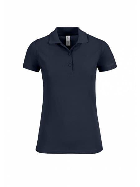 Рубашка поло женская Safran Timeless темно-синяя
