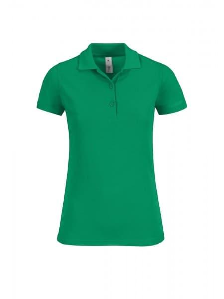 Рубашка поло женская Safran Timeless зеленая