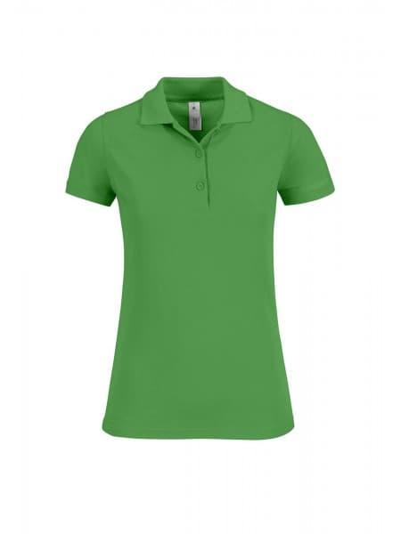 Рубашка поло женская Safran Timeless зеленое яблоко
