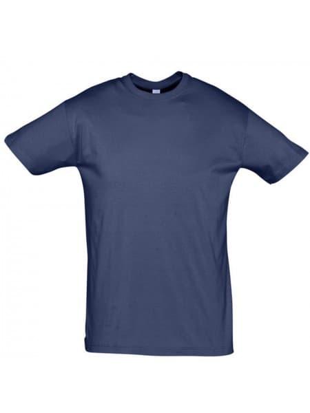 Футболка REGENT 150, синяя (джинс)