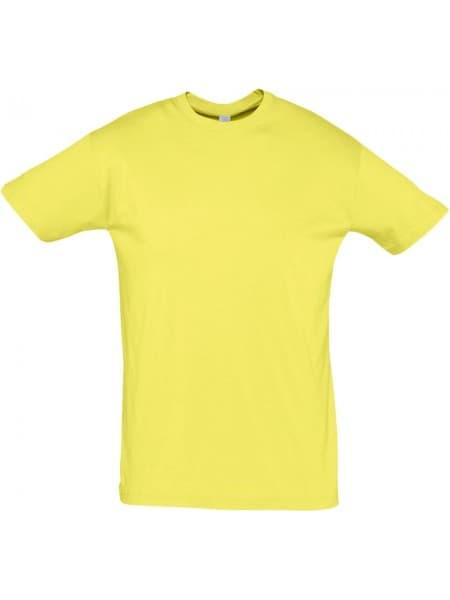 Футболка REGENT 150, светло-желтая
