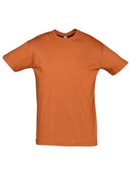 Футболка REGENT 150, оранжевая