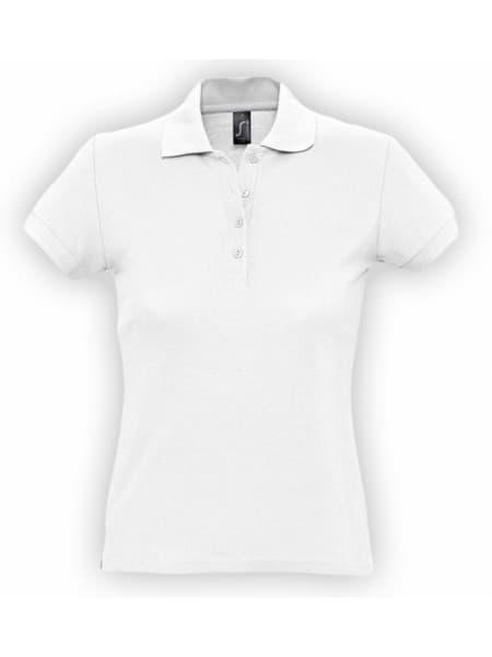 Рубашка поло женская PASSION 170, белая