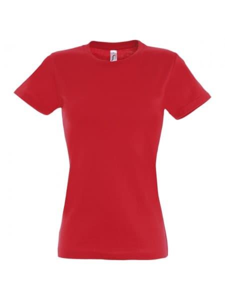 Футболка женская Imperial Women 190, красная