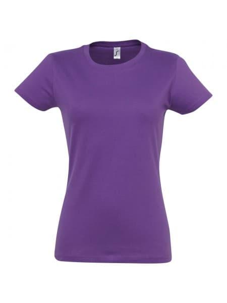 Футболка женская Imperial Women 190, фиолетовая