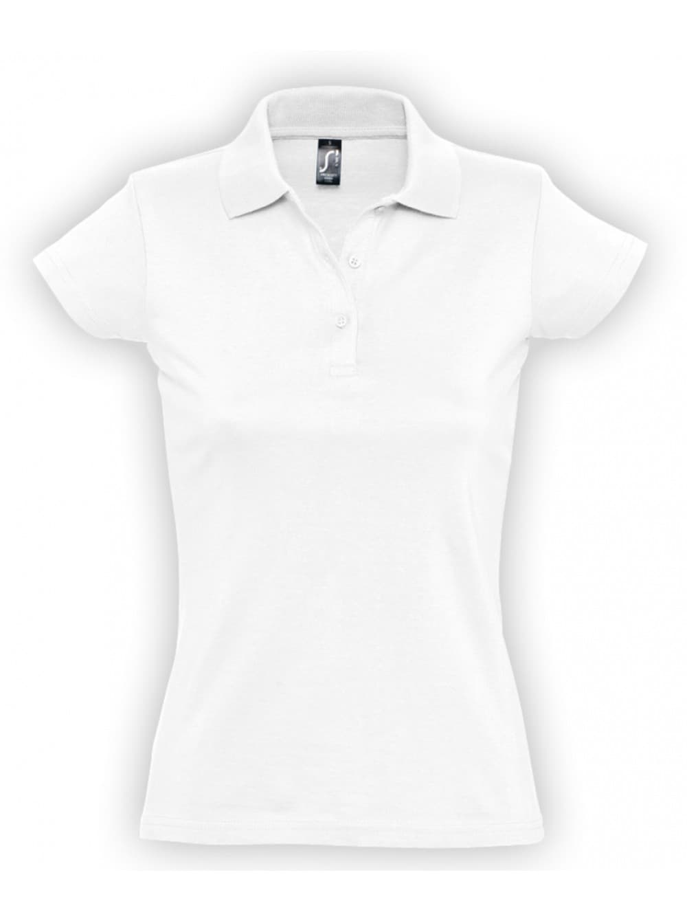 b0843bbf2799 Рубашка поло женская Prescott Women 170, белая