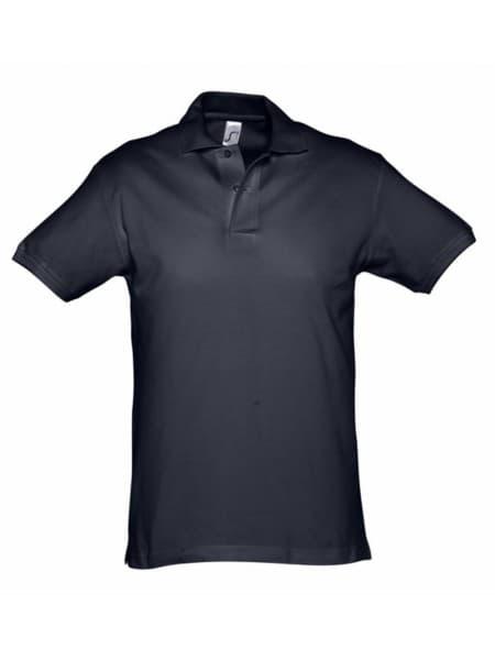 Рубашка поло мужская SPIRIT 240, темно-синяя (navy)