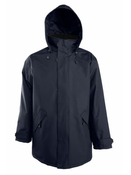 Куртка на стеганой подкладке River, темно-синяя