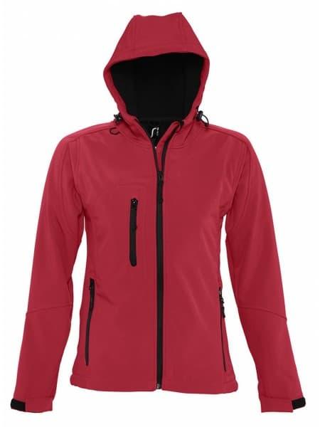 Куртка женская с капюшоном Replay Women, красная
