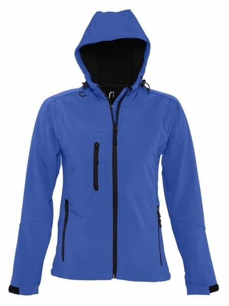 Куртка женская с капюшоном Replay Women, ярко-синяя