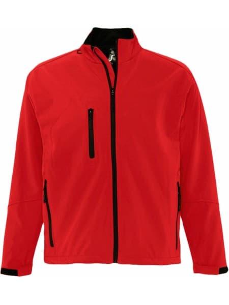 Куртка мужская на молнии RELAX 340, красная