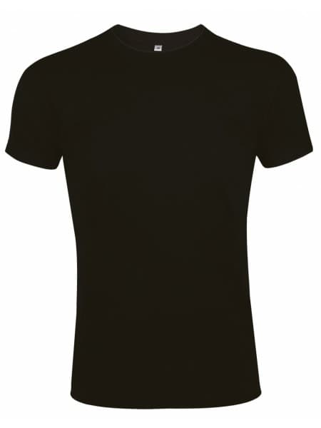 Футболка мужская приталенная IMPERIAL FIT 190, черная