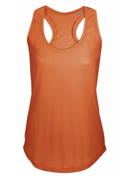 Майка женская MOKA 110, оранжевая
