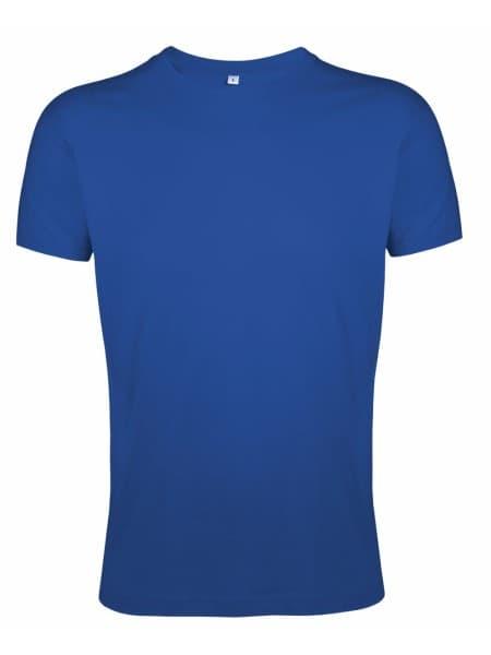 Футболка мужская приталенная REGENT FIT 150, ярко-синяя (royal)
