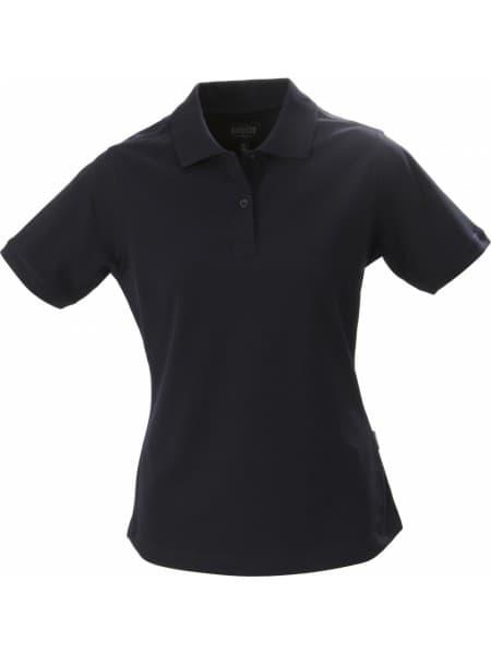 Рубашка поло стретч женская ALBATROSS, темно-синяя