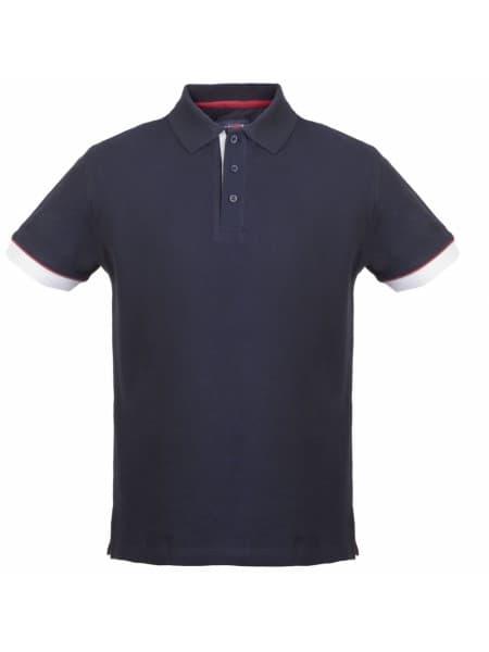Рубашка поло мужская ANDERSON, темно-синяя