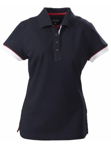 Рубашка поло женская ANTREVILLE, темно-синяя