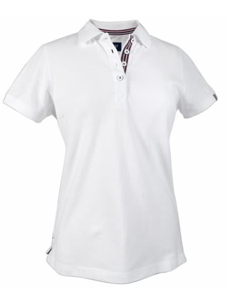 Рубашка поло женская AVON LADIES, белая