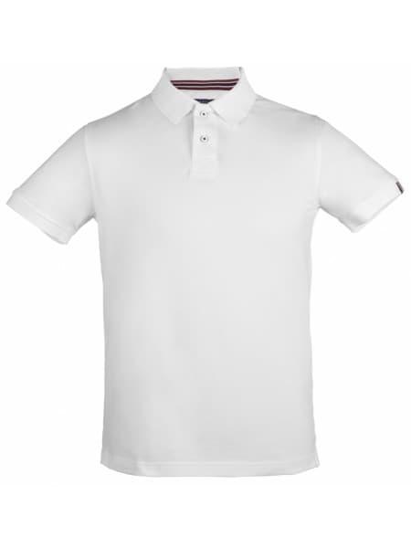 Рубашка поло мужская AVON, белая