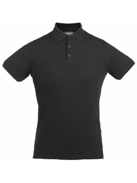 Рубашка поло стретч мужская EAGLE, черная
