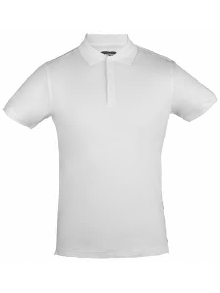 Рубашка поло стретч мужская EAGLE, белая