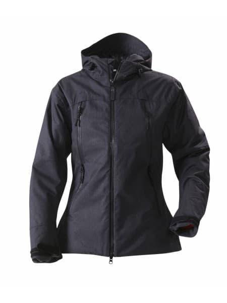 Куртка женская ELIZABETH, черный меланж