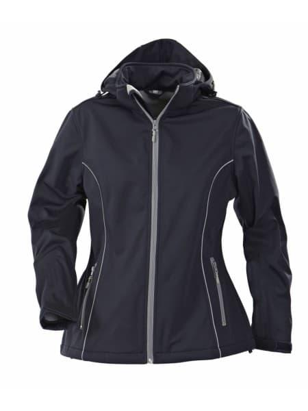 Куртка софтшелл женская HANG GLIDING, темно-синяя