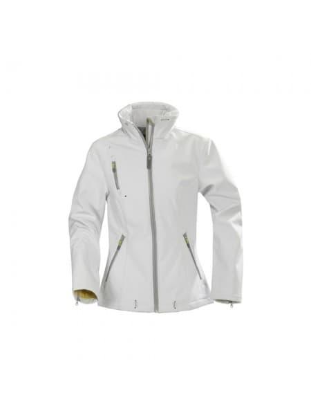 Куртка софтшелл женская SAVANNAH, белая