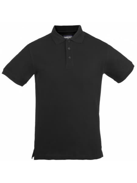 Рубашка поло мужская MORTON, черная