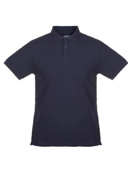 Рубашка поло мужская MORTON, темно-синяя