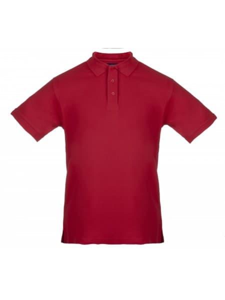 Рубашка поло мужская MORTON, красная