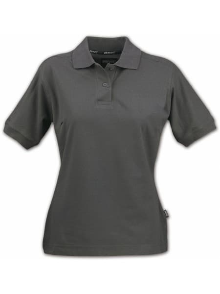 Рубашка поло женская SEMORA, серая (антрацит)