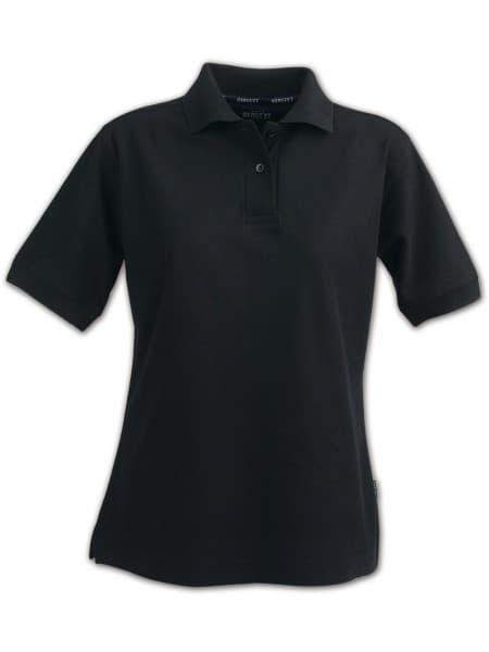 Рубашка поло женская SEMORA, черная